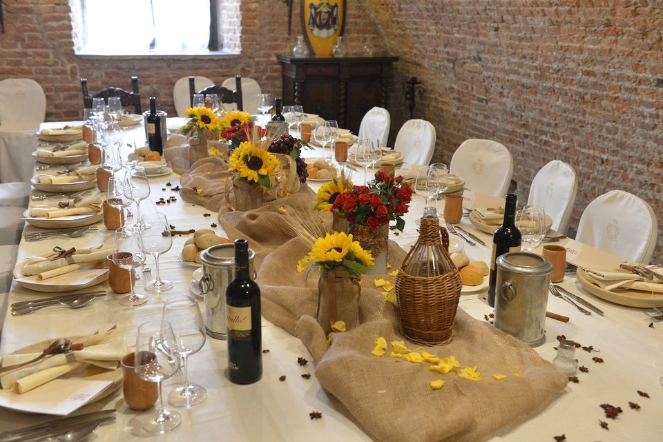 Tema Matrimonio In Un Castello : Matrimonio in castello ristorante allestimenti